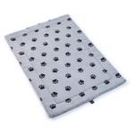 Zoon SnugPaws Grey Padded Comforter Blanket, 70 x 100cm