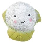 Zoon Veggie Cauliflower Squeaky Latex Dog Toy