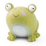 Zöon Veggie Frog Squeaky Latex Dog Toy