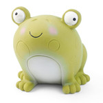 Zoon Veggie Frog Squeaky Latex Dog Toy