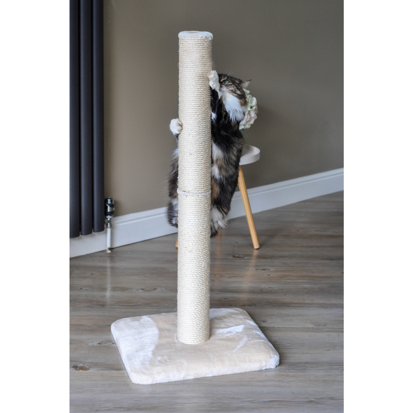 Zöon Deluxe Scratch Cat Scratching Post, 1m