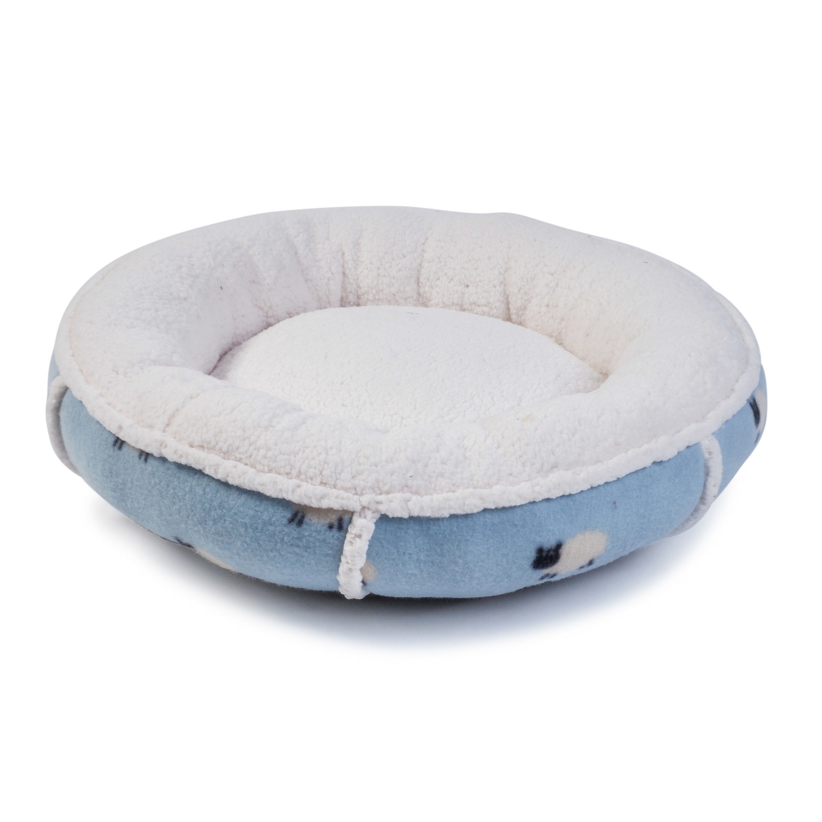 Zoon Counting Sheep Donut Cat Bed, 45 x 45 x 12cm