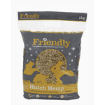 Friendly Hutch Hemp Natural Bedding for Small Animals, 1kg