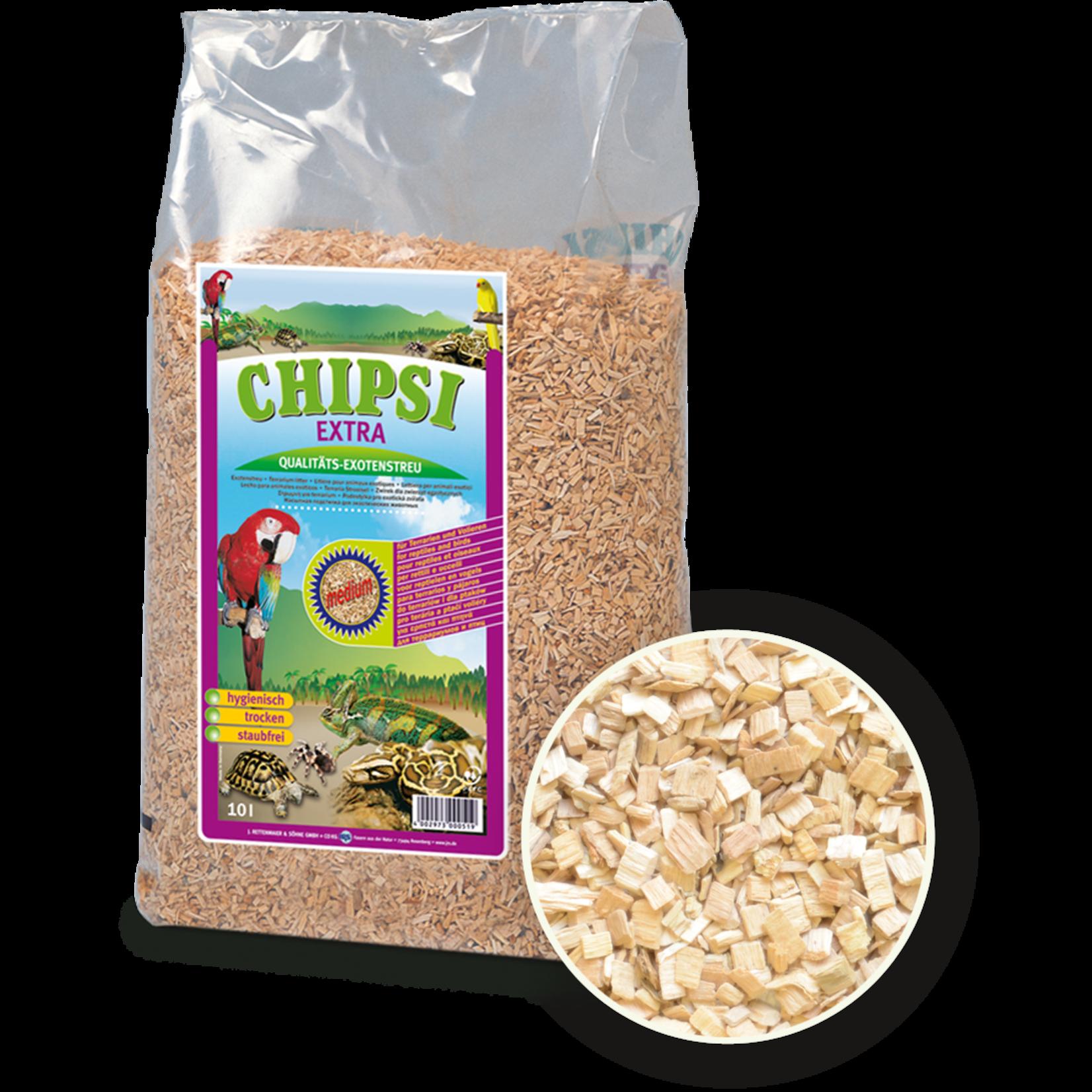 Chipsi Beechwood Bedding Chips, Medium, 10 Litres