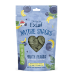 Burgess Excel Nature Snacks Fruity Feasts with Banana & Blueberry Small Animal Treat, 60g