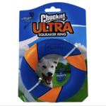 Chuckit! Ultra Squeaker Ring Dog Toy