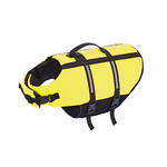 Nobby Dog Buoyancy Aid with Reflective Stripes, Neon Yellow