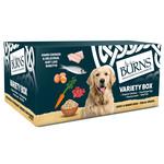 Burns Adult & Senior Wet Dog Food Mixed Variety Box, 6 x 395g