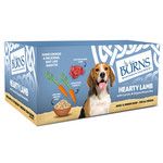 Burns Adult & Senior Wet Dog Food Hearty Lamb, Vegetables & Brown Rice, 6 x 395g