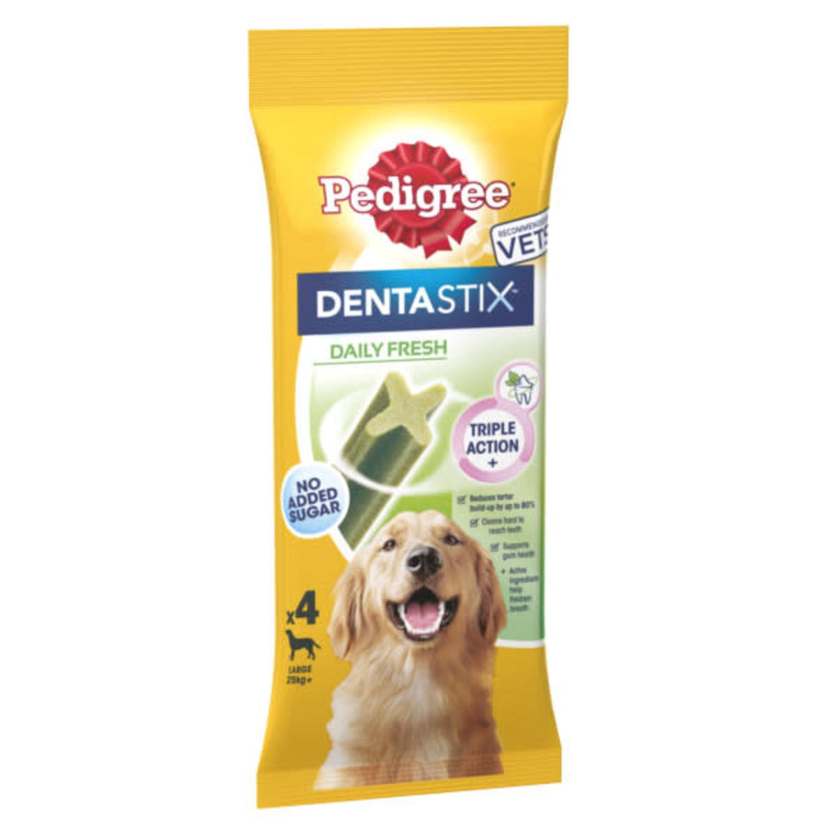 Pedigree Dentastix Fresh Daily Oral Care Dental Chews, Large Dog over 25kg