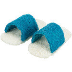 Trixie Loofah Sandals Small Animal Toy, 8cm, 2 pieces