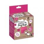 Zöon Bio-Compostable Pink Poop Bags, 240 pack