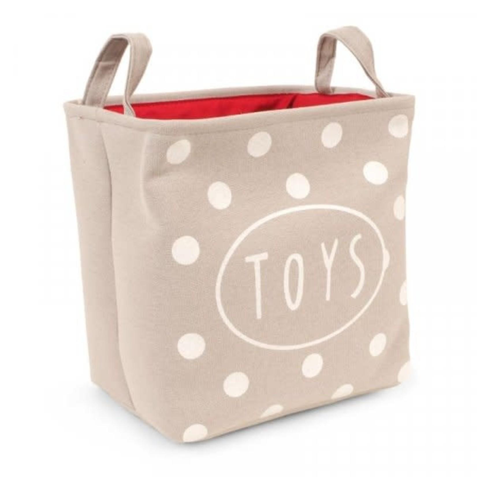 Zöon Canvas Toy Tidy, Polka Dots