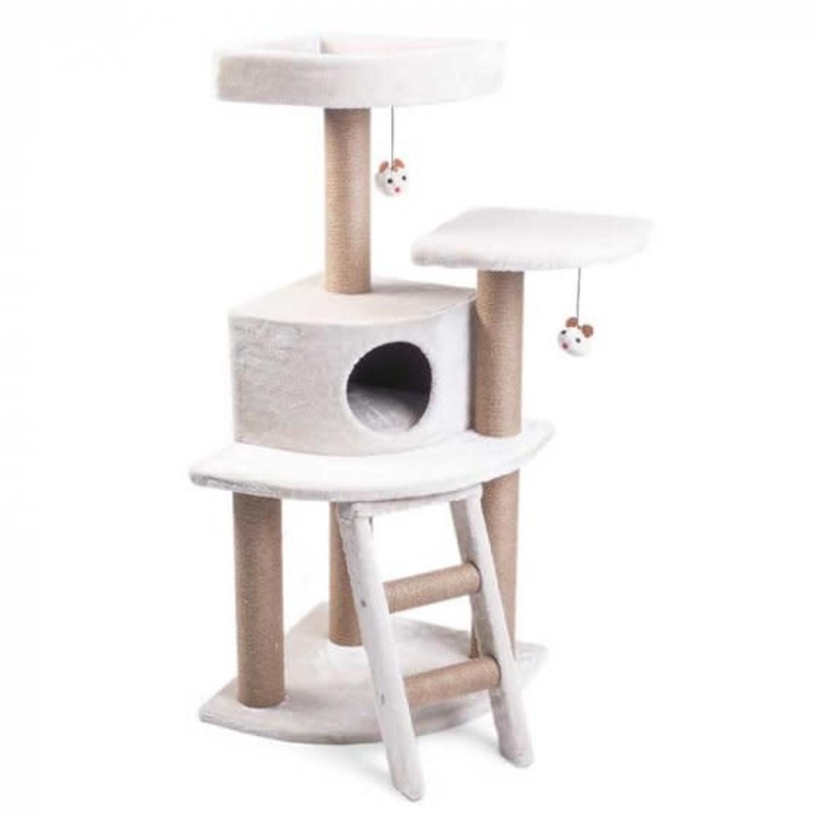 Zöon Deluxe Corner House CatZone Cat Scratching Post, 1.2m