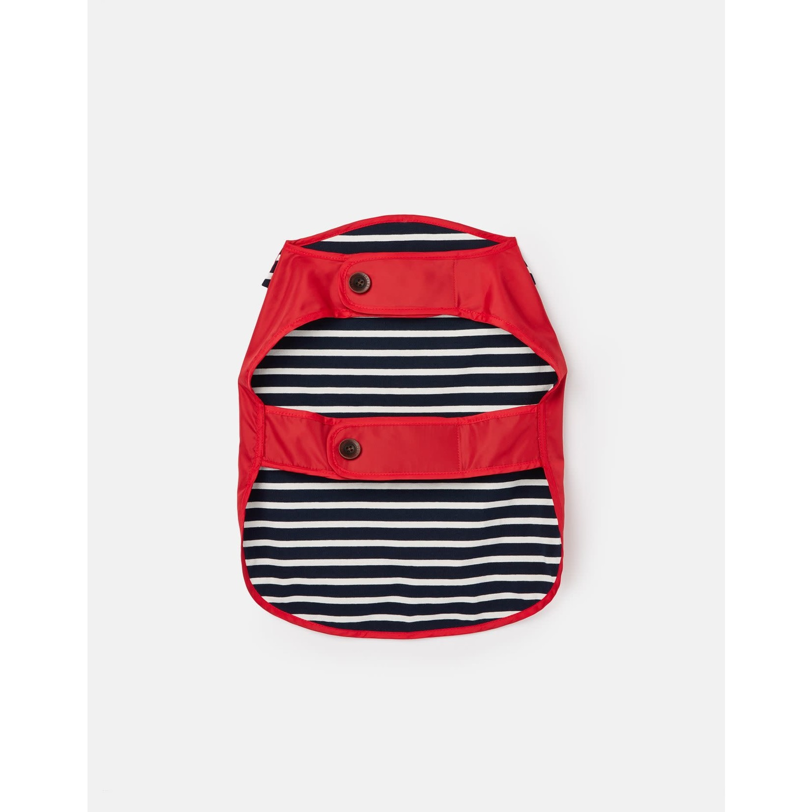 Joules Coastal Collection Water Resistant Dog Coat, Red