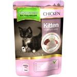 natures menu Kitten Wet Food Pouch, Chicken, 12x100g