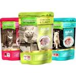 natures menu Adult Cat Wet Food Pouch, Multipack, 12x100g