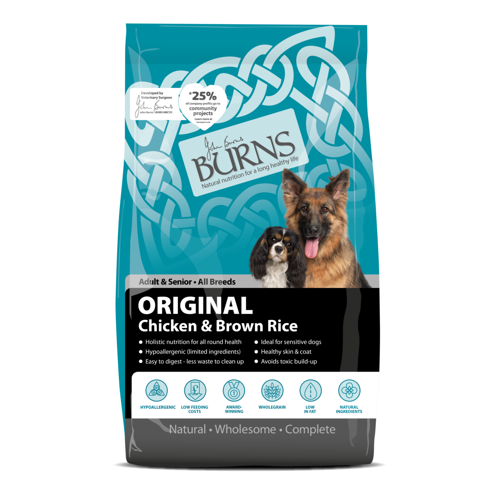 Burns Original Dog Dry Food, Chicken & Brown Rice