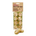 Boredom Breaker Naturals Papaya 'n' Peanut Cookies Small Animal Treat, 8 pack