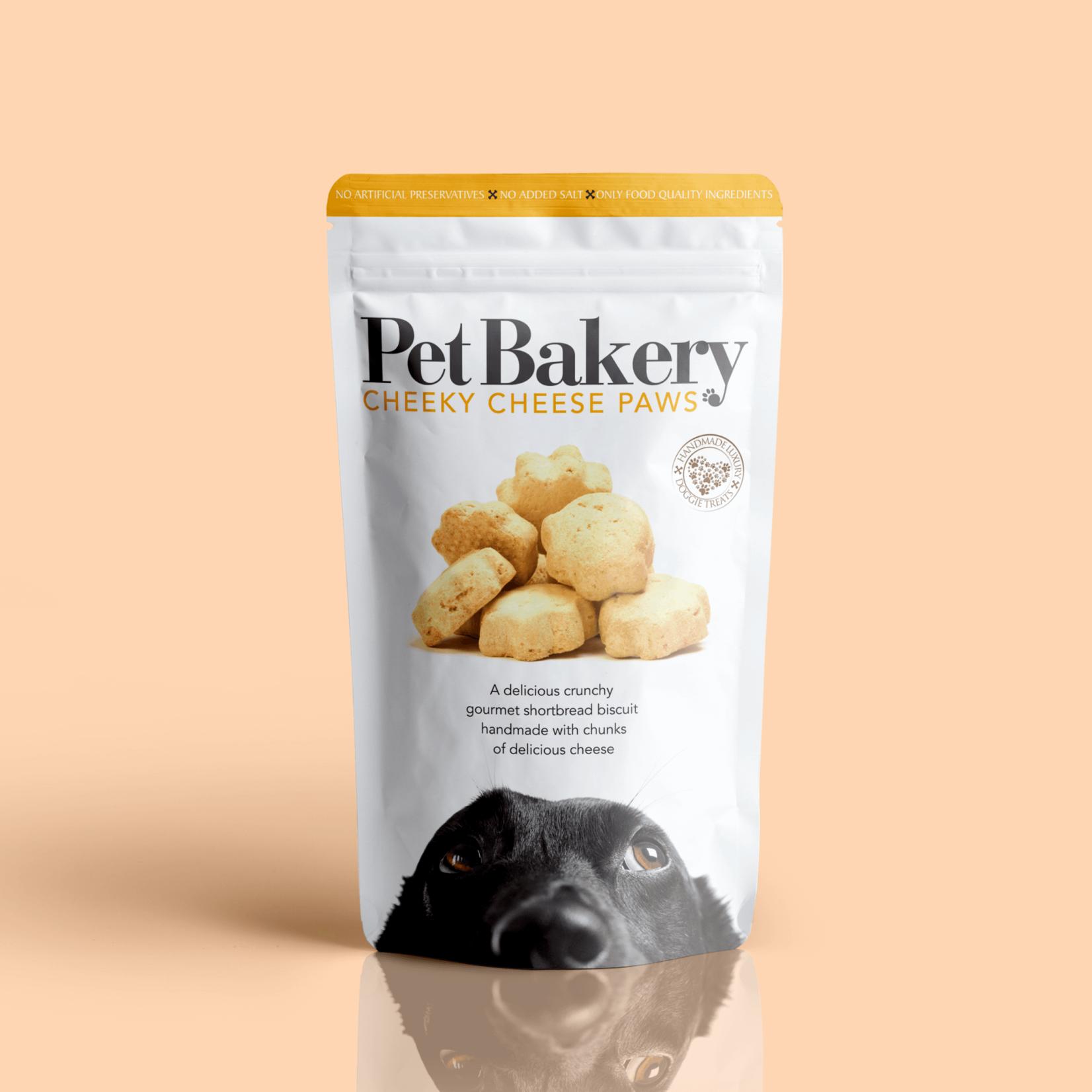 Pet Bakery Cheeky Cheese Paws Dog Treats, 190g
