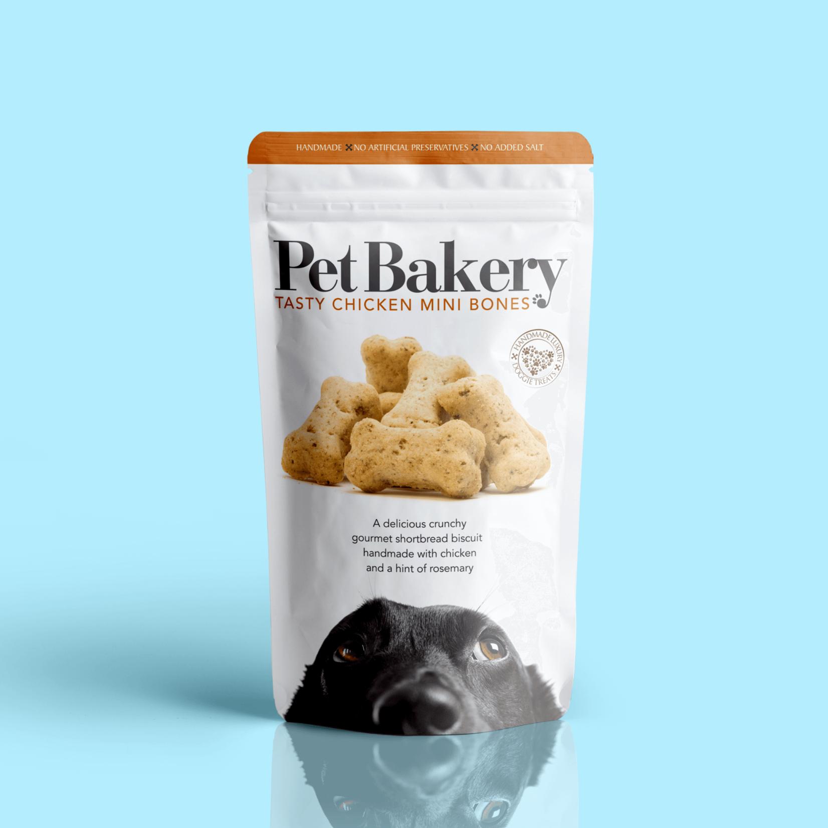 Pet Bakery Tasty Chicken Mini Bones Dog Treats, 190g