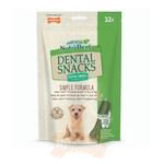 Nylabone Nutri Dent Dental Snacks for Dogs, Extra Small, 32 pack