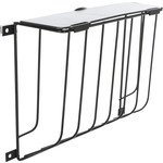 Trixie Screw-On Metal Hay Manger, with Lid, 22 x 16 x 6cm