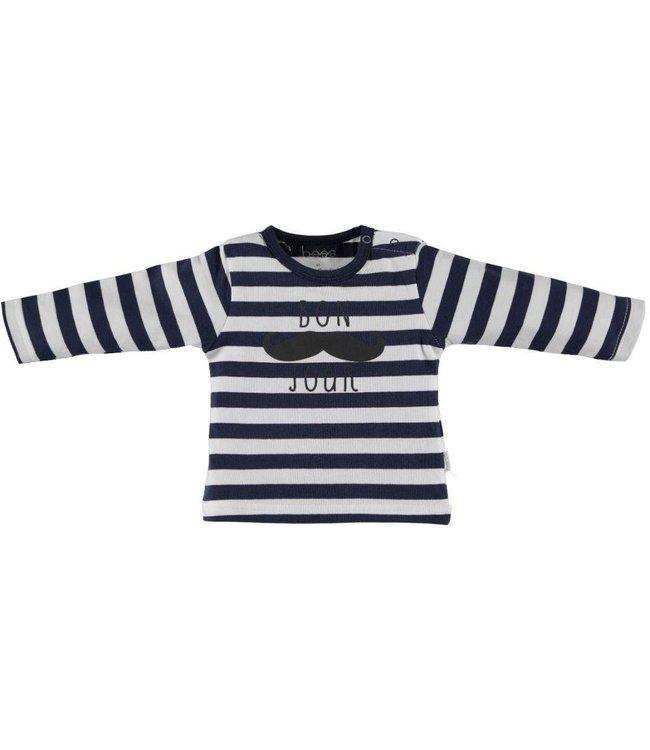 B.E.S.S.  Shirt Bonjour streep