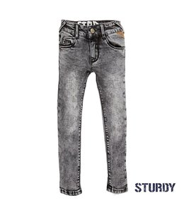 Sturdy Broek Grey Denim