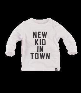 Z8 newborn Shirt Wild Cherry Wit