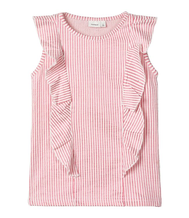 Name IT  Shirt Fastripe Roze