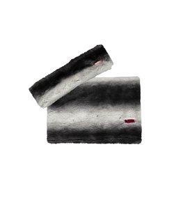 B.Nosy Sjaal en Haarband Zwart