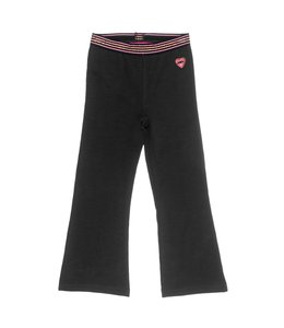 Jubel Broek Flared Zwart Animal Attitude