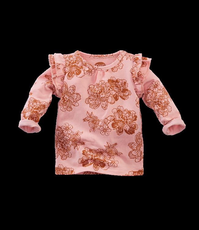 Z8 newborn Shirt Geranium