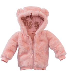 Z8 newborn Teddyvest Hazel Roze