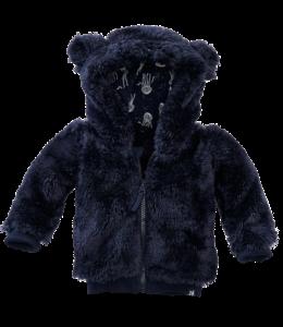 Z8 newborn Teddyvest Hazel Blauw