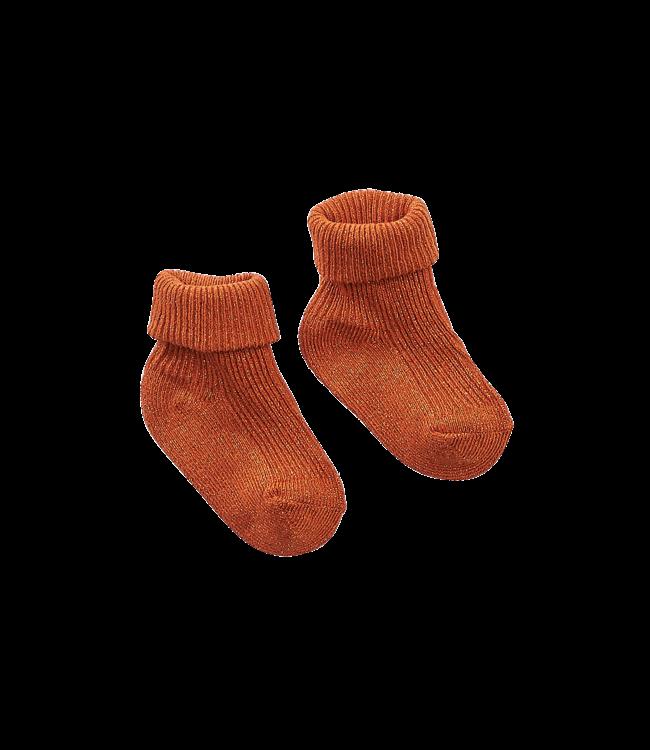 Z8 newborn Sokken Pine Pecan