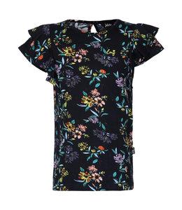 Little Miss Juliette  T-Shirt Bloemen LMJ