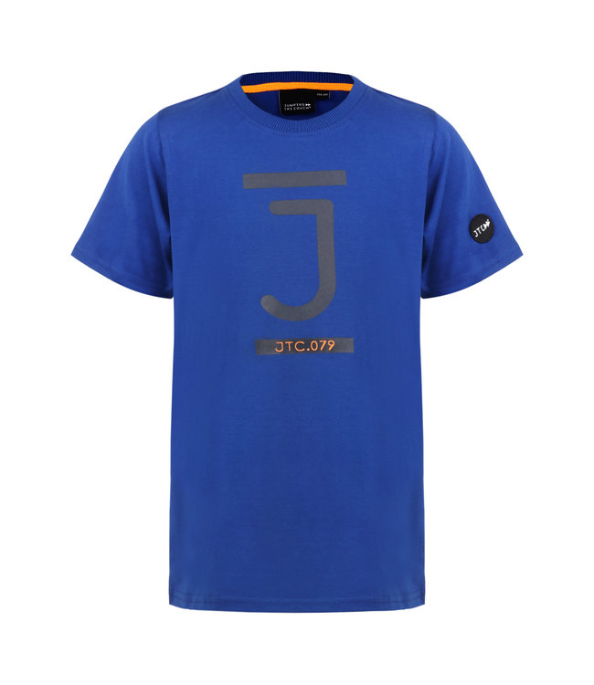 Jumping The Couch T-Shirt Blauw