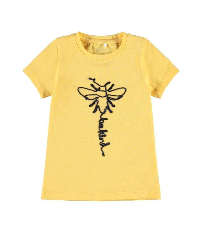 Name IT  Shirt Dabee Geel