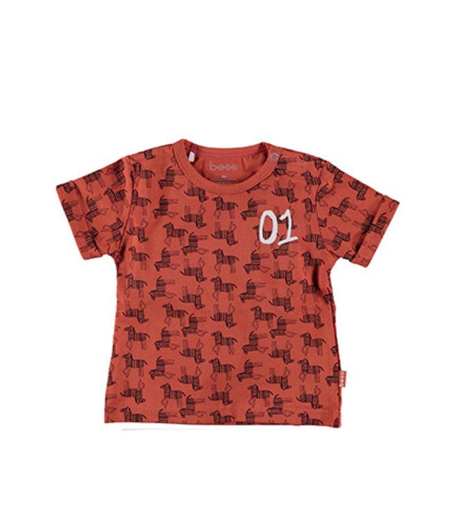 B.E.S.S.  Shirt Zebra