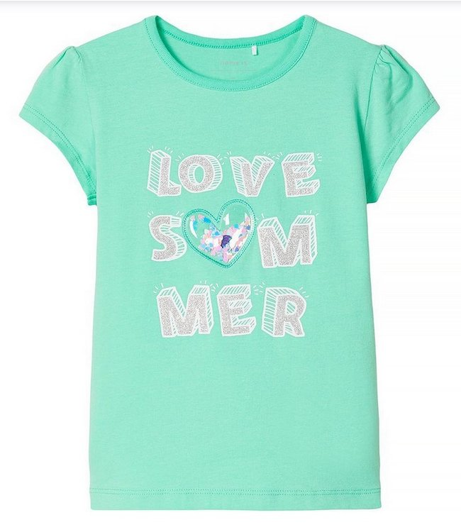 Name IT  Shirt Hapina Groen
