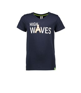 B.Nosy Shirt High Waves Blauw