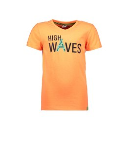 B.Nosy Shirt High Waves Oranje