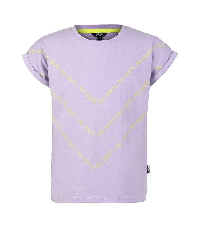 Little Miss Juliette  T-Shirt Lavander