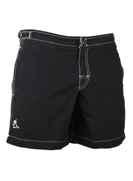 Cap Martinez strój kąpielowy bez gumki w talii | Czarny