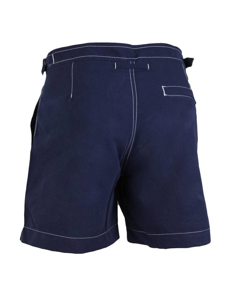Ibiza strój kąpielowy bez gumki w talii |  Mocny niebieski