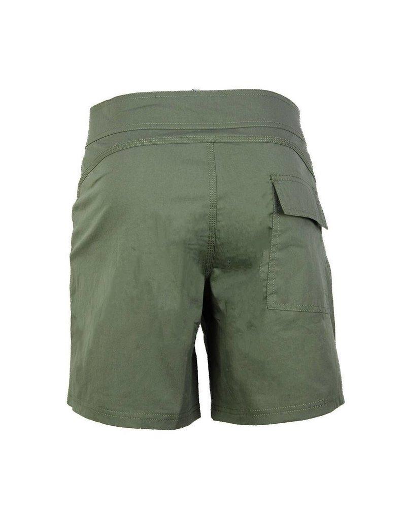 Jarvis strój kąpielowy bez gumki w talii | Oliwka