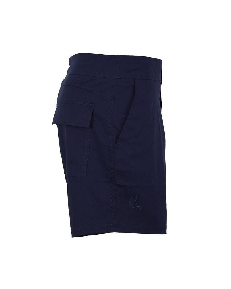 Jarvis Najnowszy Trend bez gumki w talii   Mocny niebieski