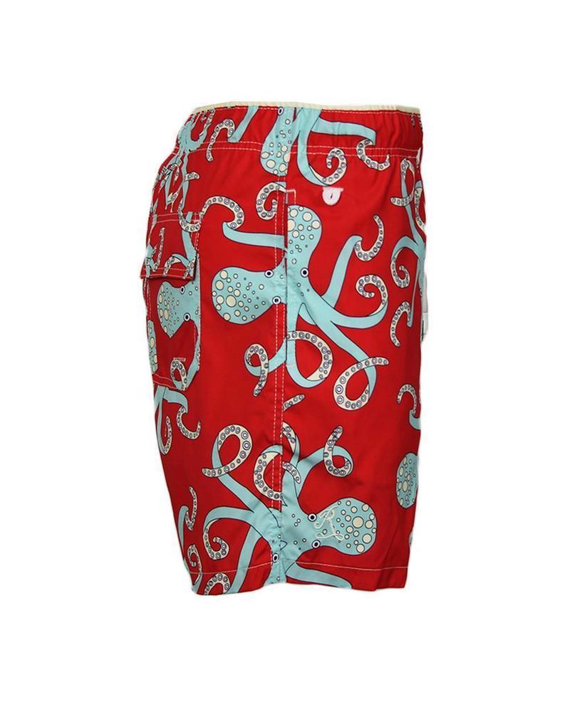Octopussy Szorty | Czerwony